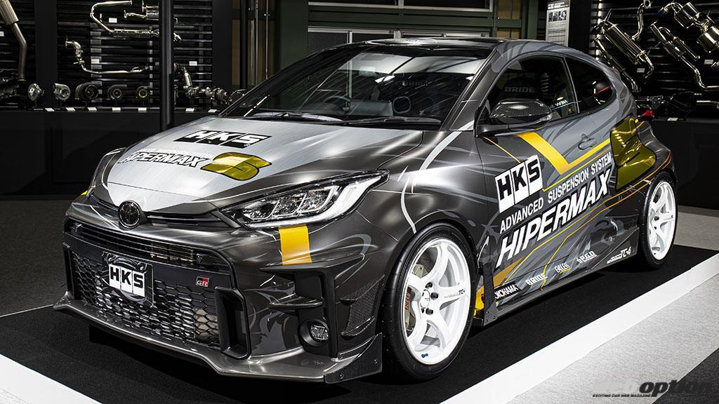「HKSがトヨタGRヤリス用の高機能エアロを発売!」空力徹底追求のデザインで勝負