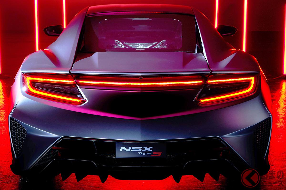 ホンダ「NSX」復活から5年で終了へ 最後に「タイプS」設定し日本は限定30台で歴史に幕