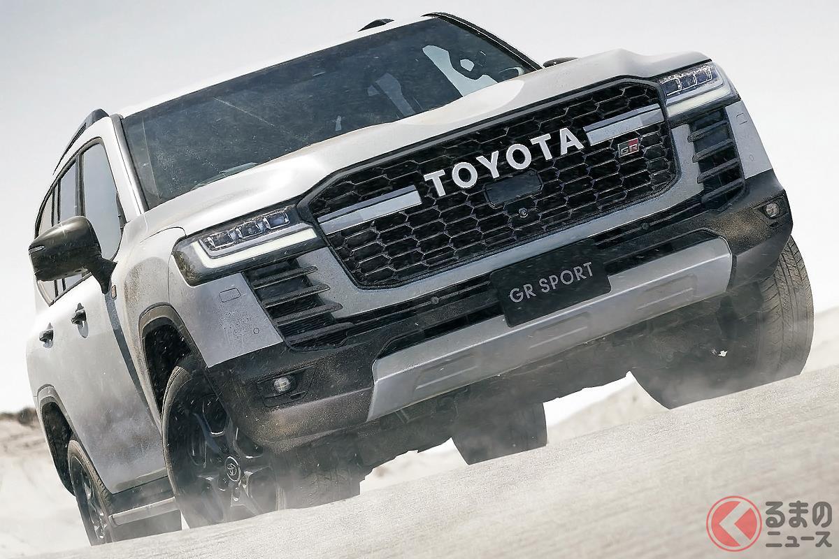 トヨタ新型「ランクル」登場で競争激化? 最新の高級クロカン車3選