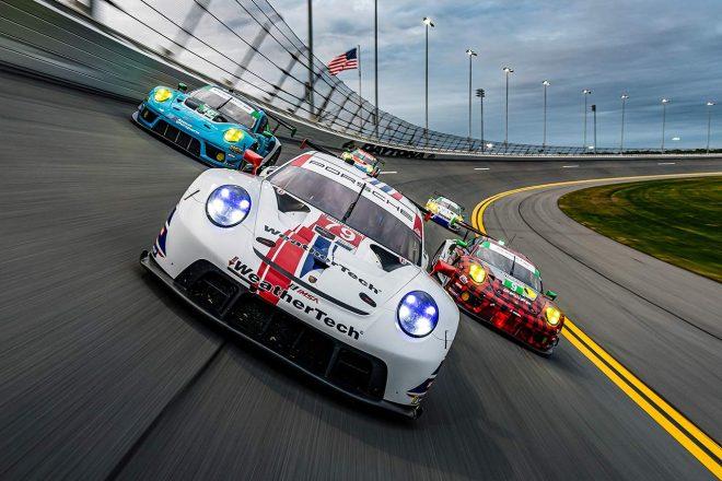 """「GTLM消滅は悲しいが、GT3こそが未来」と""""プロ""""クラスに上がったウェザーテック・ポルシェのマクニール/IMSA&ル・マン"""