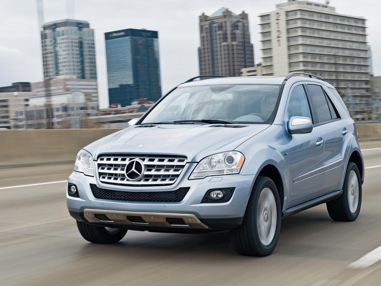メルセデス・ベンツML450ハイブリッドは、レクサスのハイブリッドを意識したか【10年ひと昔の新車】