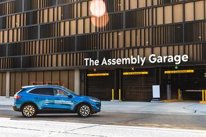 ボッシュ フォードがデトロイトで自動駐車の実証実験開始