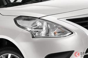 日産が新型セダンを発売! 巨大ヘッドライトの迫力顔! 懐かしいデザインの「Vドライブ」をメキシコで刷新!