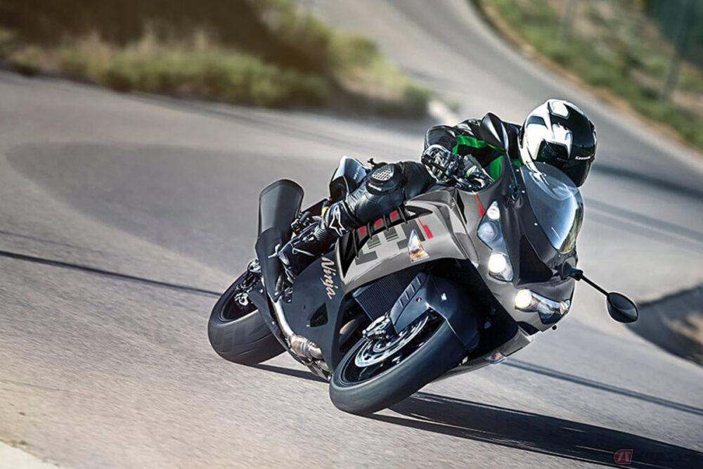 生き残ったカワサキ製・自然吸気モデルの最高峰「Ninja ZX-14R」 北米で2022年モデルを発表