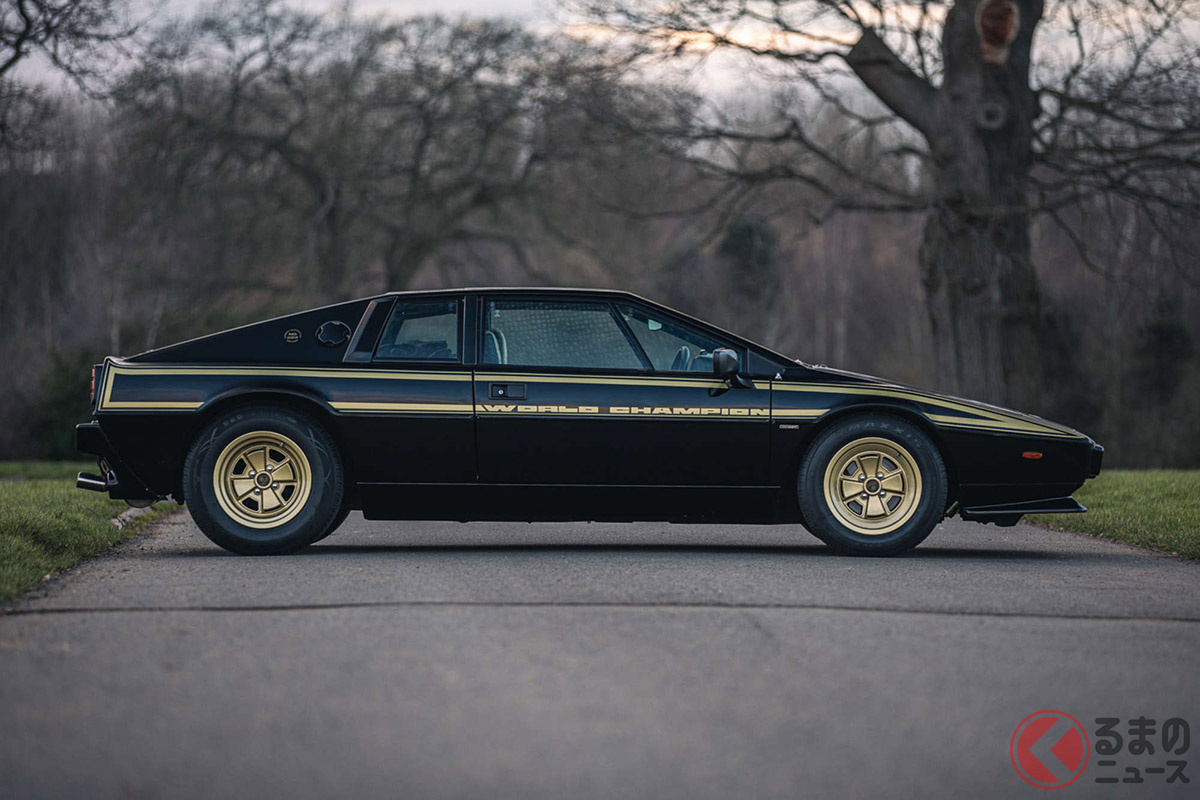 穴場の1000万円以下!! JPS仕様のロータス「エスプリ」は現実味ある70年代スーパーカーだ