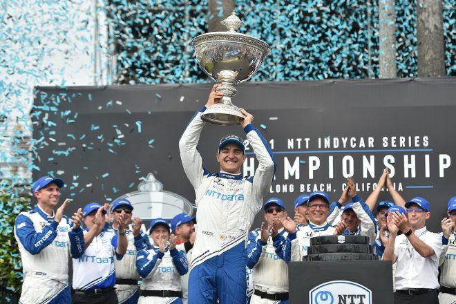 参戦2年目のパロウがチャンピオンに輝く。レースはハータが連勝/インディカー最終戦ロングビーチ詳報