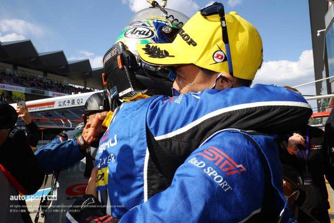 SUBARU BRZ R&D SPORT、新型デビューから2戦目で初PPを獲得【第2戦富士GT300予選】