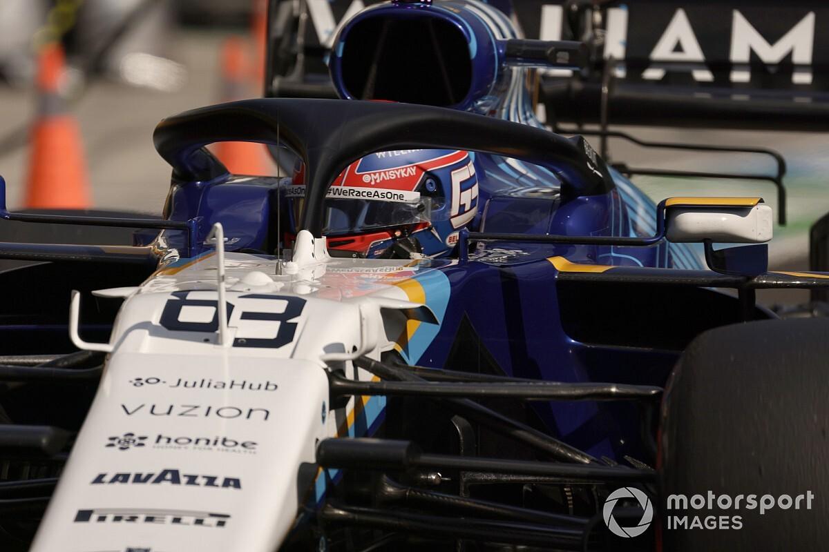 ラッセル、ウイリアムズで初ポイント獲得に涙。「言葉では言い表せない……それ以上のモノ」 F1ハンガリーGP