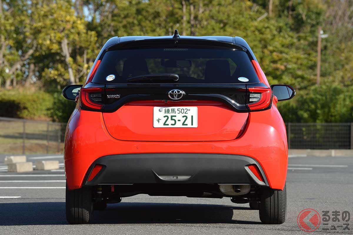 トヨタ「ヤリス」依然好調! 軽はダイハツ「ムーヴ」浮上 4月販売トップ10