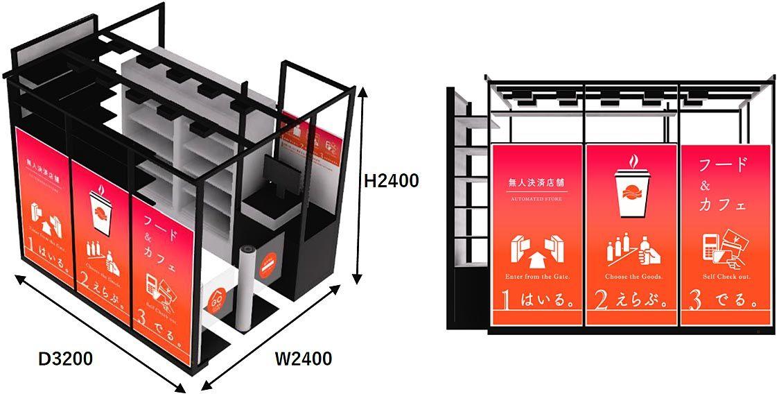 三菱商事エネルギー、ガソリンスタンドに無人決済店舗 食品や飲料販売 1号店は千葉新港SS