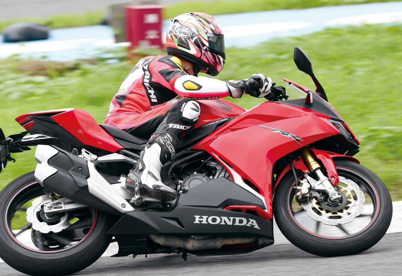 【ホンダ CBR250RR 編】チュートリアル福田充徳さんが250ccスポーツバイクを乗り比べ!〈サーキット試乗インプレ〉
