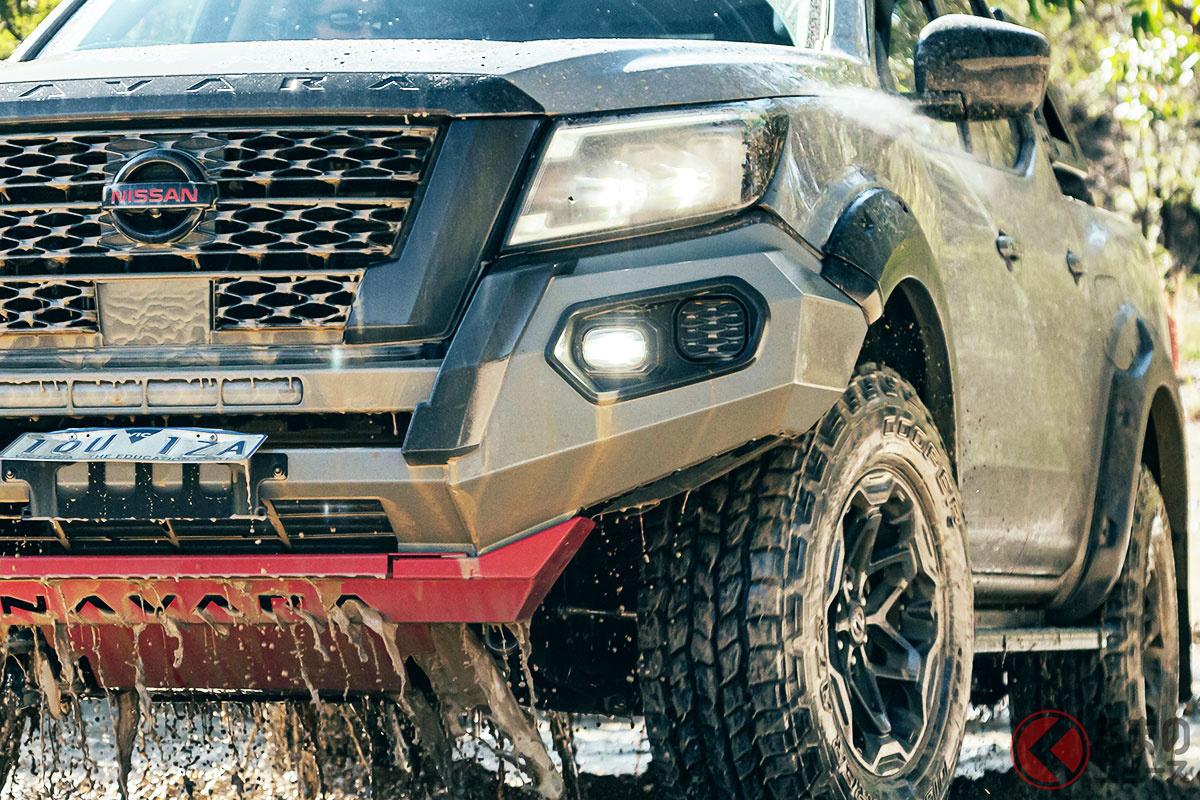 日産新型「ナバラ PRO-4X ウォーリアー」9月1日発売! 「歴代最強にタフ」な巨大4WD 豪州で登場!