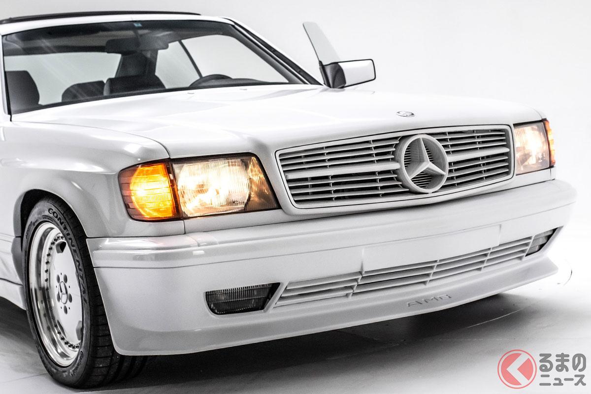 1700万円で販売中! AMGのワイドボディはバブル期最強の1台