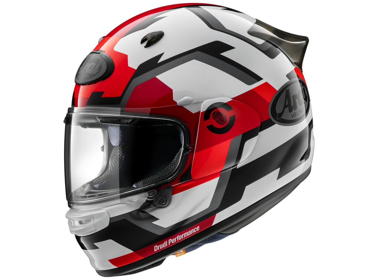 アライの新型ヘルメット「アストロGX」に初のグラフィックモデル「アストロGX・フェイス」が登場、カラーは3色!