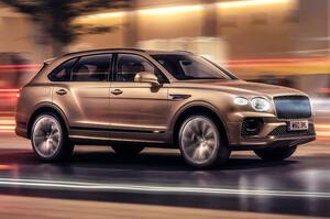 【SUVの頂点】新型ベントレー・ベンテイガ・ハイブリッド発表 2021年夏発売予定