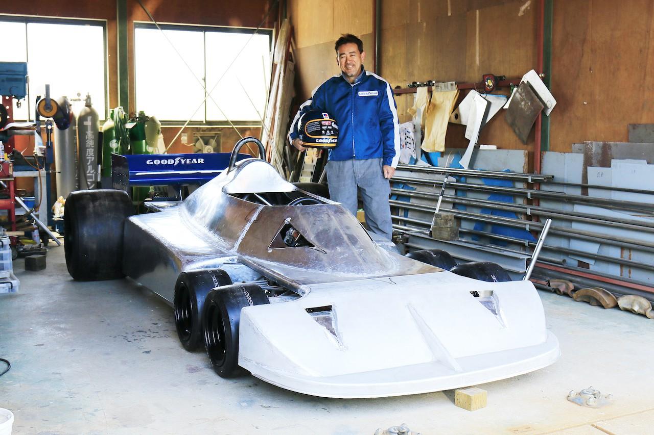 ハンドメイドによる「アルミのイオタ」の生みの親が「6輪F1マシン製作」に掛ける想いとは[vol.3]