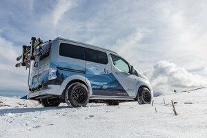 日産が冬のアウトドアに最適なEVバンの「e-NV200ウインター・キャンパー・コンセプト」を発表