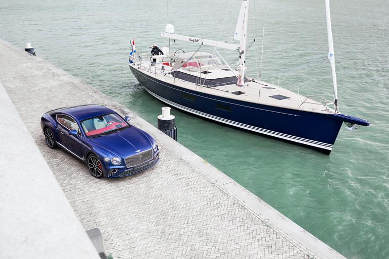 一度乗ってみたい!ベントレー「コンチネンタルGT V8クーペ」のキャビンデザインを採用したラグジュアリーなヨット
