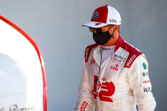 ライコネン「ペレスといいバトルをしていたが、急にスペースがなくなった」:アルファロメオ F1第10戦決勝