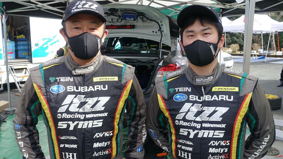 全日本ラリー第2戦新城ラリー2021 スバル AMS WRX STIの新井親子がワンツーフィニッシュ