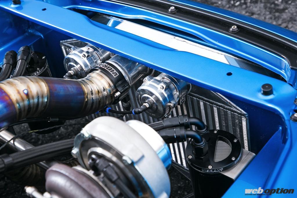 「左右対称すぎるV6ツインターボ仕様のS2000、見参」このエンジンルームはもはや芸術だ!