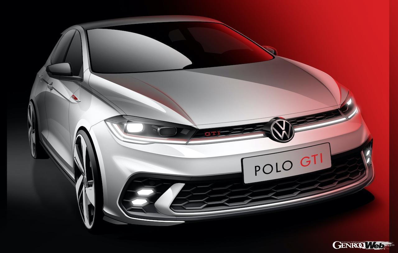 フォルクスワーゲン、新型「ポロ GTI」のデザインスケッチを公開!