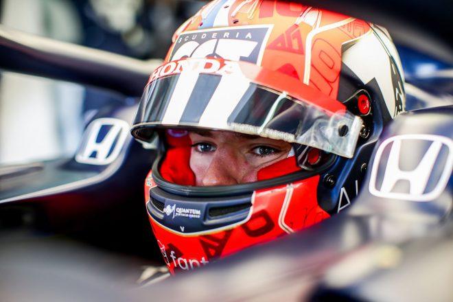 AT02の強みはリズミカルな中高速コーナー。ガスリー「開幕戦以上の速さが出せる」/F1第2戦インタビュー