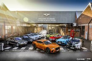 ベントレー コンチネンタルGTシリーズ、累計生産台数8万台を達成! 記念の特別フォトセッションを公開