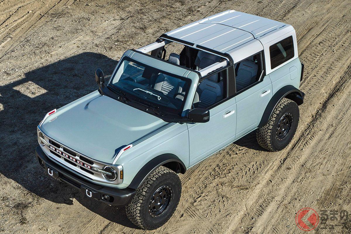 ついに登場!25年ぶりに復活したアメリカンSUV フォード新型「ブロンコ」米で生産開始