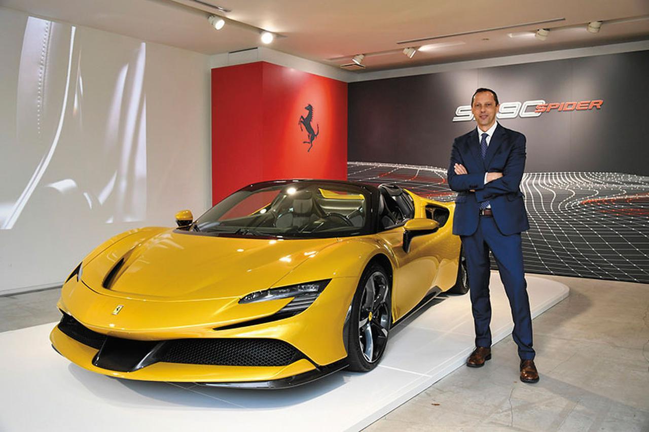 パストレッリ フェラーリ・ジャパン社長に訊く。「ライフスタイルにフィットするフェラーリがあります」