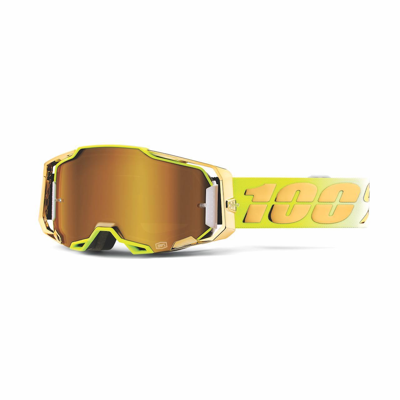 目元のインパクト強し、100%のハイエンドモデルにゴールドが眩しい21春カラー登場
