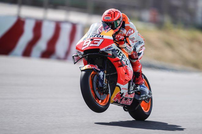M.マルケス、265日ぶりの復帰に満足「週末を通して腕がどう反応するかが疑問」と懸念も/MotoGP第3戦ポルトガルGP初日