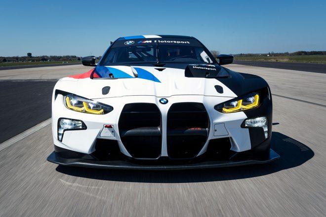 BMWが開発中の新型M4 GT3、実戦デビューを目前にスパ24時間のテストデーへ参加