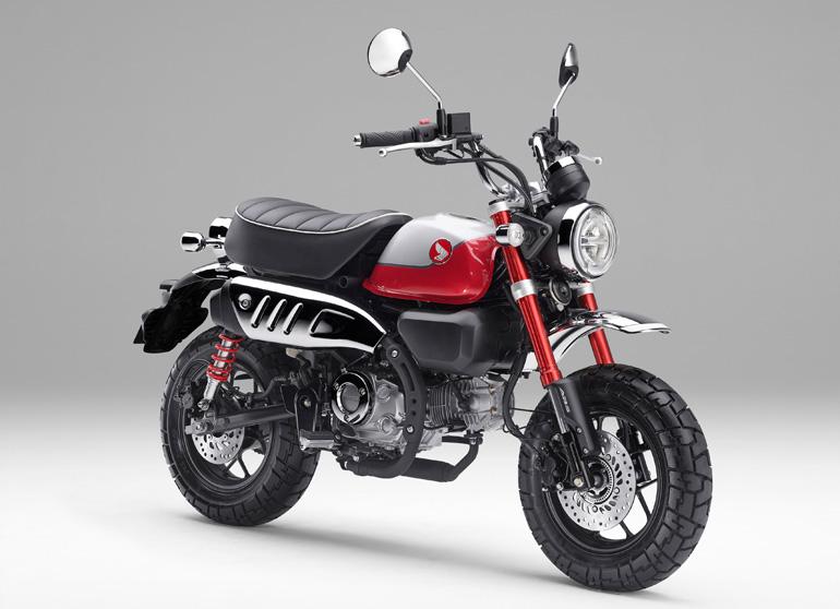 ホンダが5速ミッションに新型エンジンを搭載したレジャーバイク「モンキー125」を発売