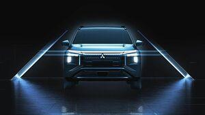 三菱自動車、新型EV「エアトレック」のデザインを上海ショーで公開 年内発売予定