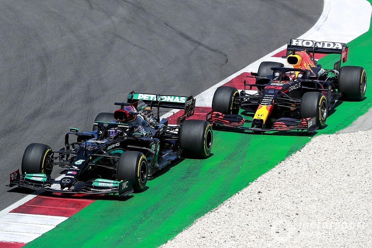 フェルスタッペン健闘も2位。ホンダ田辺TD「戦闘力が拮抗する中、良い結果……さらなる前進のため全力を尽くす」 F1ポルトガルGP