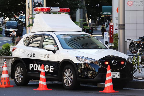日本唯一のレアパトカーから謎のバスまで 全国からご当地警察車 新国立競技場で警備に