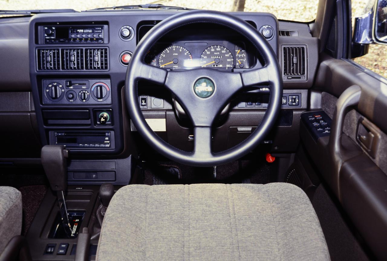 【クロカン列伝25 2代目ビッグホーン編】クラス初となる24バルブ DOHC V6エンジンを搭載
