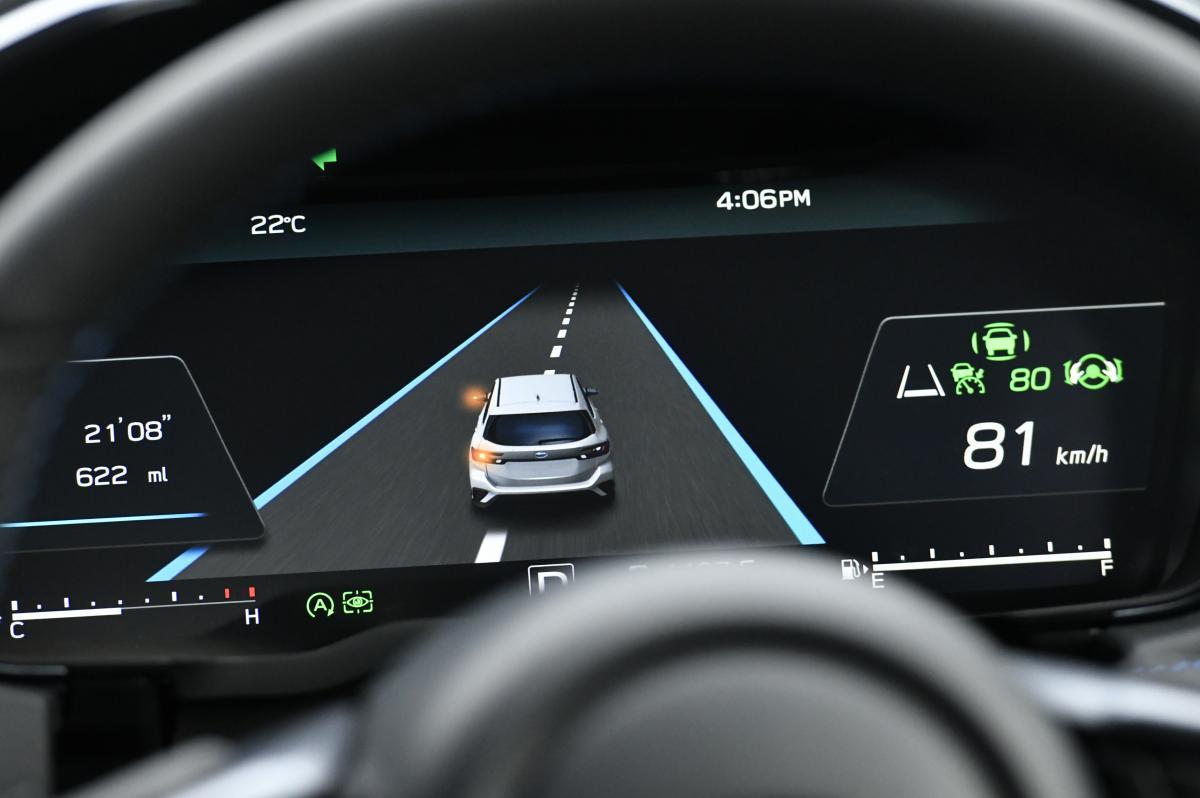 新型レヴォーグの手放し運転可能な「アイサイトX」! イチオシ装備なのに「非搭載」グレードを用意するワケ