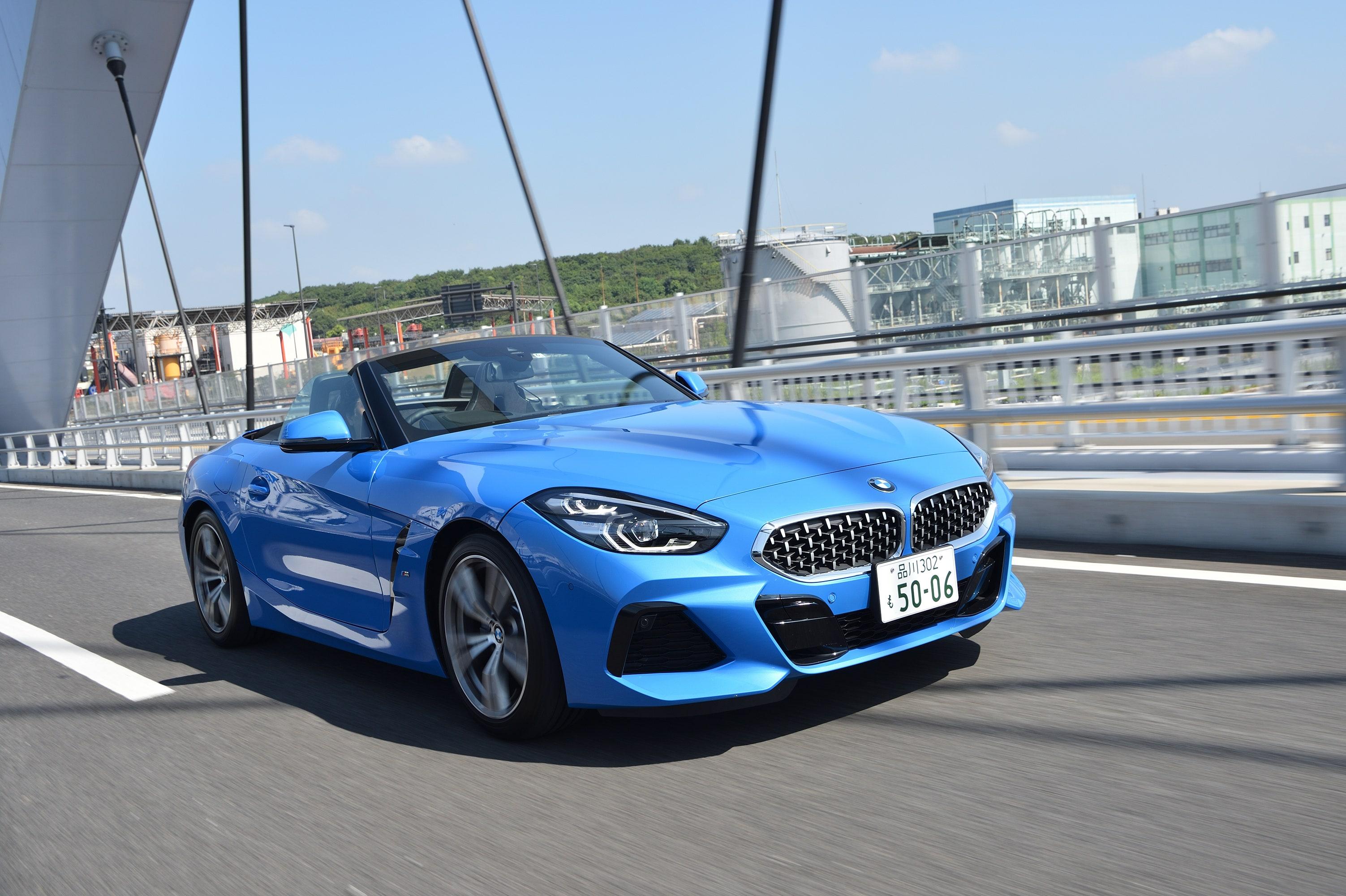 エグゾーストノートが心地よい──スープラの姉妹車・BMW Z4の魅力は?