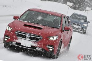 なぜスバル車は雪国で選ばれる?四駆性能が圧倒的に支持されるワケ