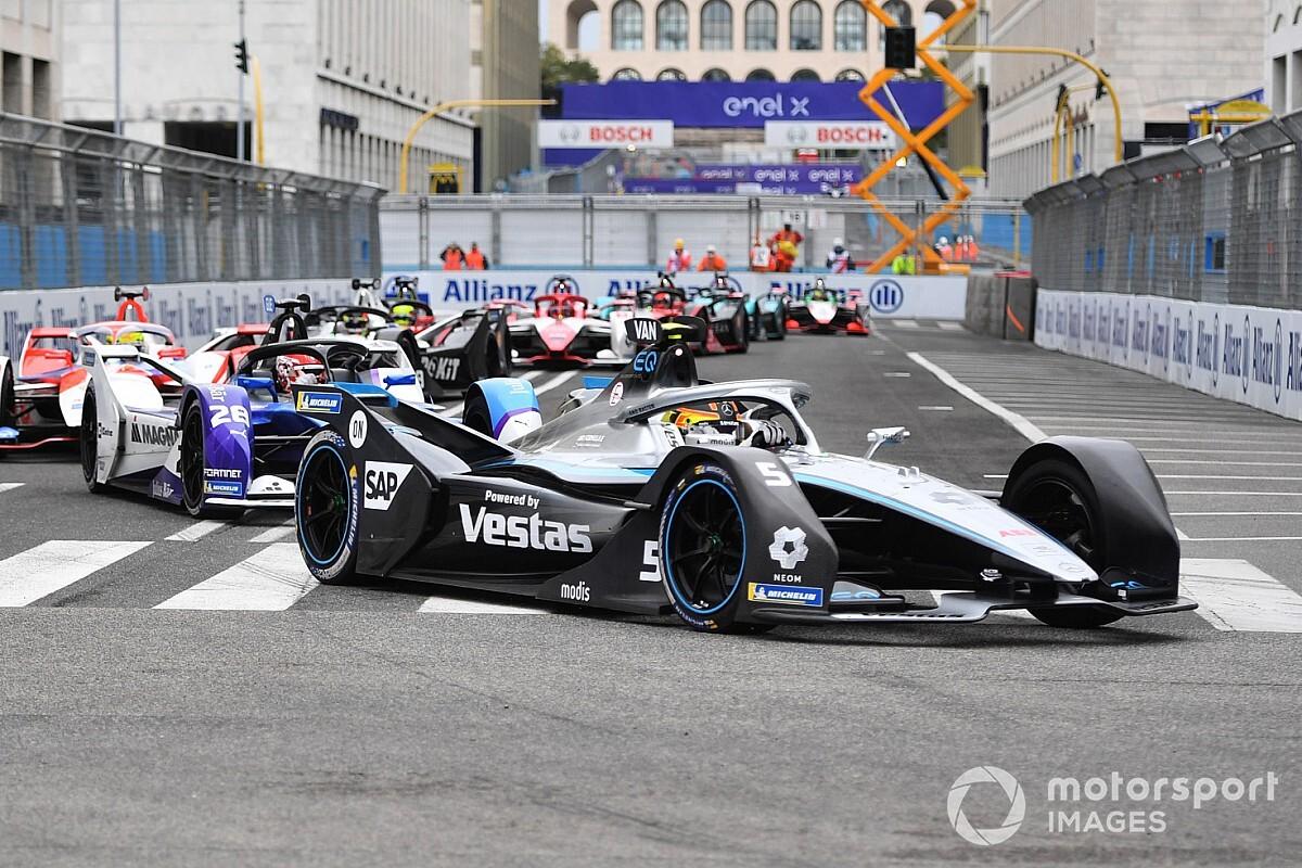 フォーミュラE第4戦ローマePrix決勝:バンドーン今季初優勝。PPキャシディ、スタート直後の単独スピンに泣く