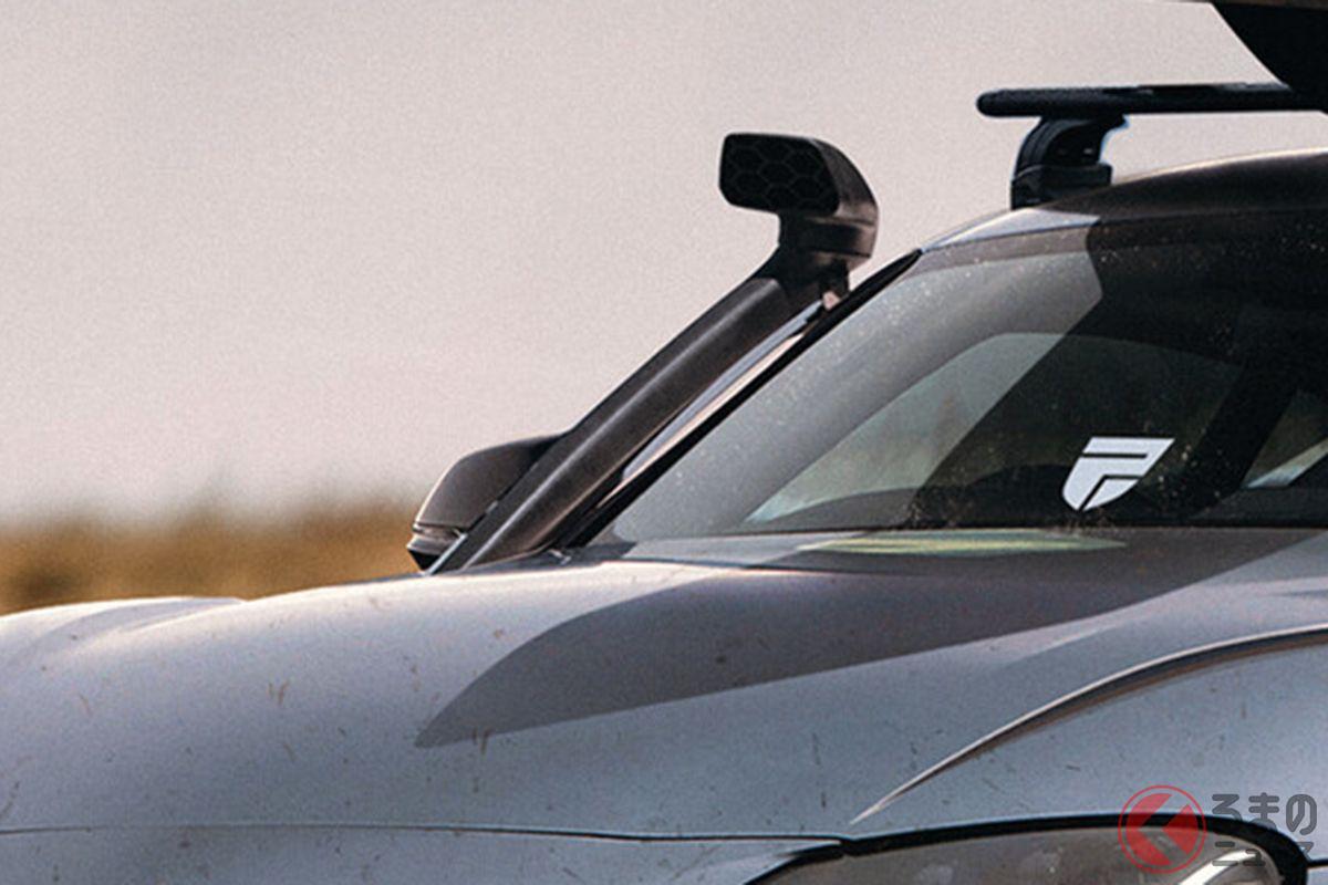 車高爆上げのトヨタ「スープラSUV」爆誕!? シュノーケル&オフロードタイヤ装着! こだわった妄想スポーツSUVとは