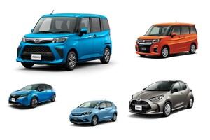 3月新車はコンパクト&ハッチバックがSUVを抜き販売トップに。ルーミー、ヤリス、ノート強い