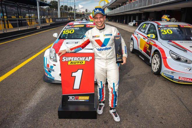 TCRオーストラリア第4戦は、スーパーカー経験者のカルーソがアルファロメオで初勝利