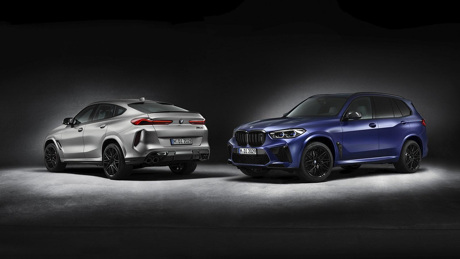 BMWがX5とX6 Mコンペティションに豪華仕様を設定。マットシルバーペイントが印象的