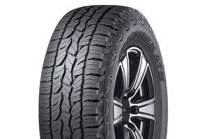 【ワイルドな面構え】新SUV用タイヤ ON/OFF両立、ダンロップ・グラントレックAT5 25サイズ発売へ