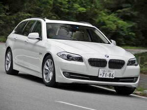 【試乗】BMW 523i ツーリングの2.5L直6は、パワフルさこそないが軽快だった【10年ひと昔の新車】