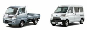 スバル サンバートラック、サンバーバンを一部改良。先進安全装備を強化
