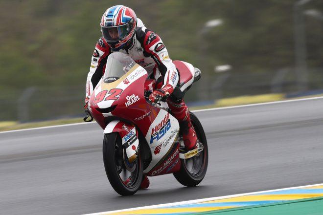 Moto3:國井勇輝、予選Q1の転倒で左鎖骨を骨折して欠場/MotoGP第5戦フランスGP